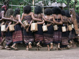 Abui Tribal Warrior Dance  Alor Island  Eastern Indonesia  Southeast Asia  Asia
