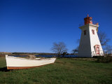 Lighthouse at Victoria by the Sea  Prince Edward Island  Canada  North America