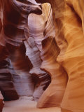Patterns in Eroded Rocks  Upper Antelope Canyon (Slot Canyon)  Page  Arizona  USA