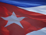 National Flag  Cuba  West Indies  Central America