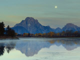 Oxbow Bend  Snake River and Tetons  Grand Tetons National Park  Wyoming  USA