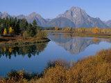 Oxbow Bend  Snake River and Tetons  Grand Tetons National Park  Wyoming  USA