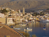 Emborio  Khalki (Chalki)  Near Rhodes  Dodecanese Islands  Greece  Europe
