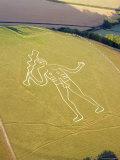Cerne Abbas Giant  Dorset  England  UK