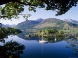 Moored Yachts in Bishop's Bay  Loch Leven  Highlands  Scotland  UK
