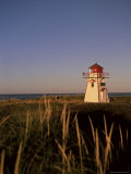 Lighthouse at Cavendish Beach  Prince Edward Island  Canada  North America