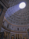 Interior  the Pantheon  Rome  Lazio  Italy  Europe