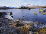 Lochan Na H-Achlaise  Rannoch Moor  Strathclyde  Highlands Region  Scotland  UK  Europe