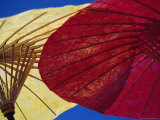 Colourful Paper Umbrellas  Bor Sang  Chiang Mai  Thailand  Asia