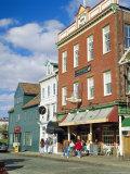 Thames Street  Newport  Rhode Island  USA