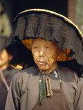 Portrait of an Elderly Hakka Woman  Hong Kong  China