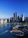Circular Quay and City Skyline  Sydney  New South Wales  Australia