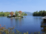 Squam Lake  New Hampshire  New England  United States of America (USA)  North America