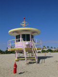 Art Deco Lifeguard Station  South Beach  Miami Beach  Florida  USA