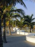 Fort Lauderdale  Wave Wall Promenade  Florida  USA