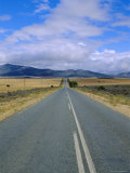 Straight Road  Little Karoo  South Affrica