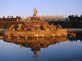 Bassin Latone  Chateau De Versailles  Ile De France  France  Europe
