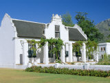 Cape Dutch Architecture  Early 19th C Stellenbosch  South Africa