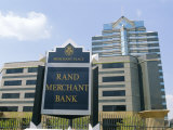 Sandton  New Financial District of Johannesburg  South Africa