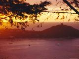Sunset  Corsica  France