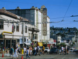 The Castro District  a Favorite Area for the Gay Community  San Francisco  California  USA