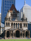 Trinity Church 1877  Copley Square  Boston  Massachusetts  USA