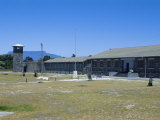 Robben Island Prison Where Nelson Mandela was Imprisoned  Now a Museum  Cape Town  South Africa