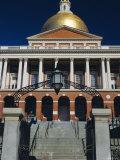 The State House  Boston  Massachusetts  USA