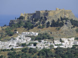 The Acropolis  Lindos  Rhodes  Dodecanese Islands  Greece Europe