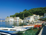 Loggos  Paxos  Ionian Islands  Greece  Europe