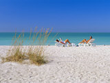 Gulf Coast Beach  Anna Maria Island  North of Longboat Key  Florida  USA