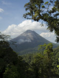 Arenal Volcano from the Sky Tram  Costa Rica