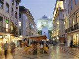 Rua Augusta  Lisbon  Portugal  Europe