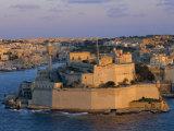 Fort St Elmo  Valetta (Valletta)  Malta  Mediterranean  Europe