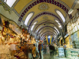 The Grand Bazaar  Istanbul  Turkey