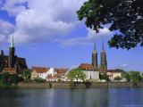 Cathedral Island  Wroclaw (Warsaw)  Silesia  Poland