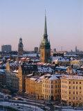 City Skyline  Stockholm  Sweden  Scandinavia  Europe
