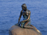 Little Mermaid  Copenhagen  Denmark  Europe