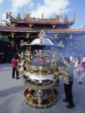 Temple  Taipei  Taiwan  Republic of China  Asia
