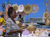 Souvenir Market Stall  Barbados  Caribbean  West Indies