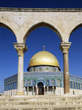 Dome of the Rock  Mosque of Omar  Temple Mount  Jerusalem  Israel  Middle East