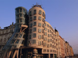 Fred and Ginger Building  Prague  Czech Republic  Europe