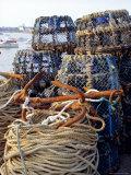 Lobster Pots  Normandy  France