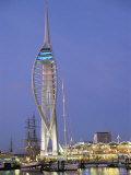Spinnaker Tower at Twilight  Gunwharf Quays  Portsmouth  Hampshire  England  United Kingdom  Europe