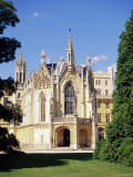 Neo-Gothic Chateau Dating from 1856  South Moravia  Czech Republic