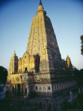 The Mahabodi Temple at Bodh Gaya  Where the Buddha Attained Enlightenment  Bihar State  India
