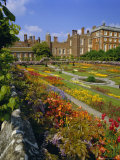 Sunken Gardens  the Origin of the English Nursery Rhyme 'Mary Mary Quite Contrary'  London  England