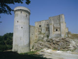 Tower and Keep of the Castle at Falaise  Birthplace of William the Conqueror  France