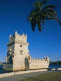 The 16th Century Belem Tower (Torre De Belem)  Designed by Francisco Arruda  Lisbon  Portugal