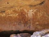 Aboriginal Painted Figures of Varied Periods  Kimberley  Western Australia